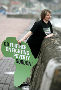 Judith Robertson (Pic supplied by Oxfam)