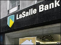 Branch of US bank LaSalle