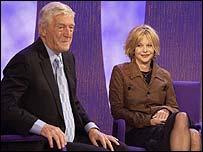 Michael Parkinson with Meg Ryan, 2003