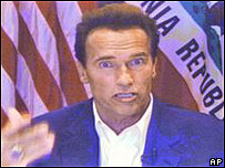 Gobernador de California, Arnold Schwarzenegger
