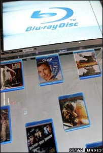 Blu-ray disc display