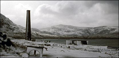 An old whaling station on Harris. Picture courtesy of Scape