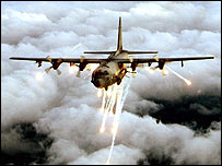 US Air Force picture of an AC-130 gunship (file photo)