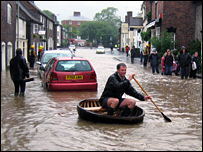 Coracle in Much Wenlock