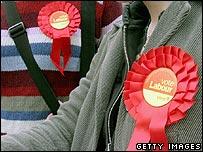 Labour rosettes