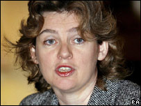 Communities Secretary Ruth Kelly