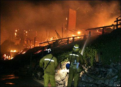 Blaze in Malibu