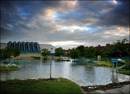 Flooding in Hull. Copyright Chris Murphy