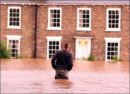 Flooding East Yorkshire. Copyright Richard Groke