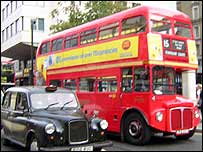 Routemaster at Charing Cross