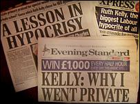 Kelly headlines