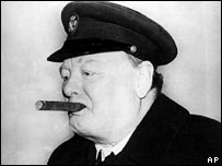 Winston Churchill (file picture, from 1942)