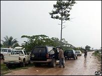 Штормовая погода в Камбодже
