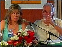 Jo and Mike Gibson make their TV appeal