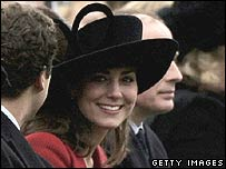 Kate Middleton at Sandhurst