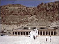Hatshepsut temple
