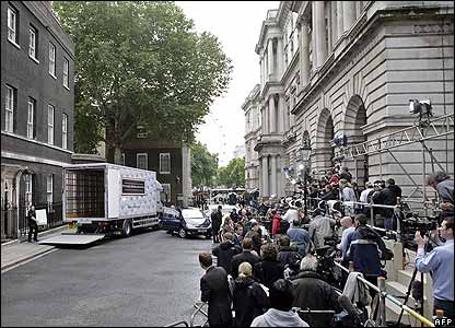 Media in Downing Street