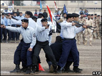 Iraqi police mark Police Day 9 January