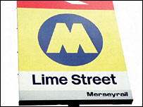 Lime Street Station sign