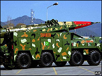Pakistan-made Shaheen-I Missile, 1999