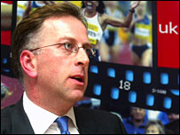 New UK Athletics chairman Ed Warner