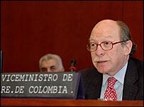 Camilo Reyes, viceministro de Relaciones Exteriores de Colombia.  Foto: Juan Manuel Herrera, OEA