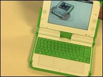 One Laptop Per Child machine