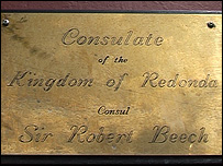 The Wellington Arms consulate plaque