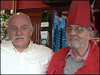 Bob Beech and Charley Elder