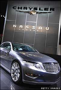 Chrysler Nassau car at the Detroit Motor Show
