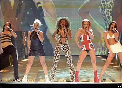 Spice Girls in 1997