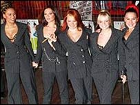 Spice Girls at the Brit Awards