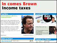 Conservative website