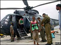 Fishermen rescued by Pakistan navy