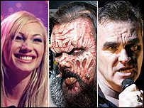 Charlotte Nilsson, Lordi and Morrissey