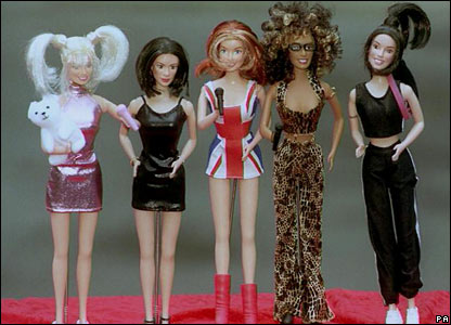Spice Girl dolls