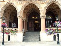 Northampton Borough Council headquarters The Guildhall
