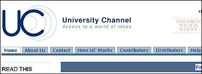 Logo del Canal Universitario
