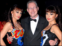 Lembit Opik and the Cheeky Girls
