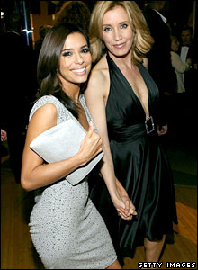 Eva Longoria and Felicity Huffman
