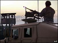 Centinela en Guant�namo
