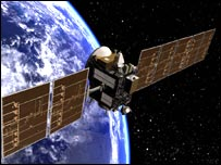 Artist's impression of Dawn spacecraft   Image: Nasa/UCLA
