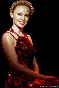Kylie Minogue waxwork