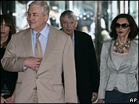 Conrad Black and wife Barbara Amiel
