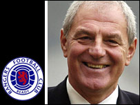New Rangers boss Walter Smith