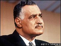 Late Egyptian President Gamal Abdel Nasser