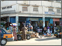 A market in Ghana