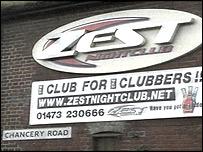 Zest nightclub