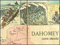 Dahomey map