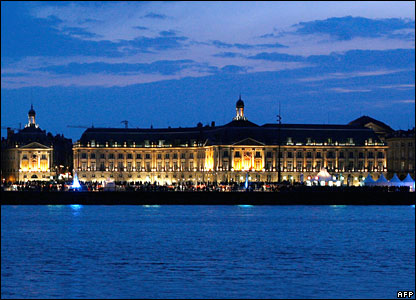 Bordeaux skyline in France (file picture)